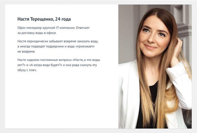 Портрет клиента - пример