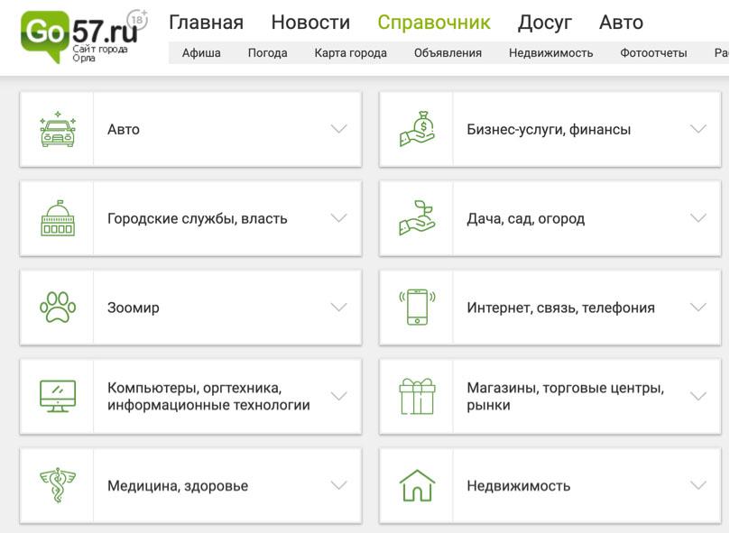 Бизнес-справочник компаний