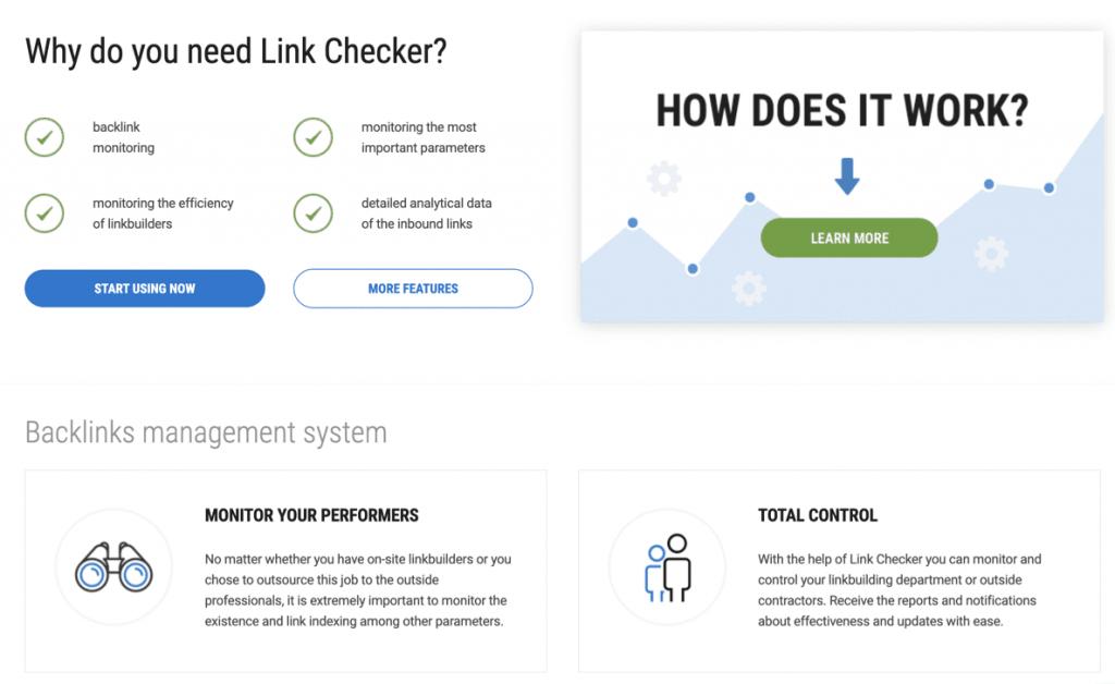 LinkChecker для мониторинга ссылок