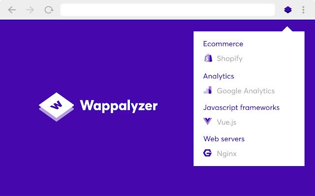 Wappalyzer Chrome